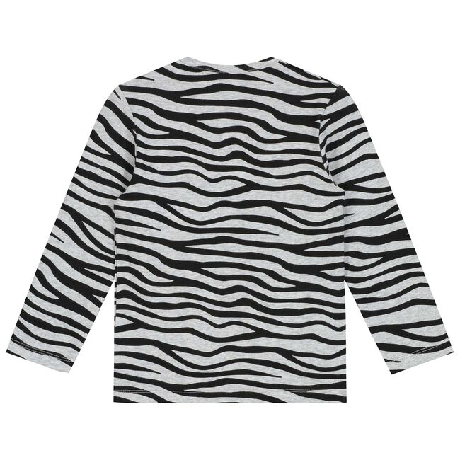 Prenatal peuter meisjes T-shirt - Mid Grey Melange