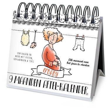 Pauline oud 9 maanden aftelkalender -