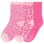 Prénatal meisjes sokken 3 stuks - Fuchsia Red