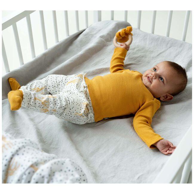 Prenatal newborn unisex shirt - Darkyellow