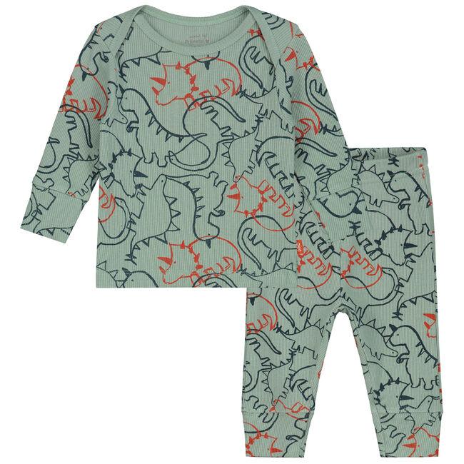 Prénatal baby jongens pyjama - Midgreen