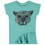 Name it peuter meisjes shirt - Azur Blue