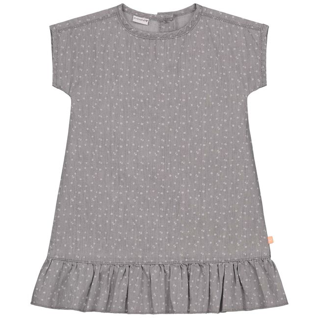 Prenatal baby meisjes jurk - Lightgrey