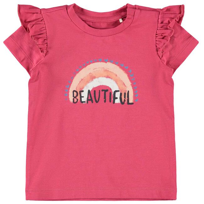 Name it baby meisjes T-shirt - Red