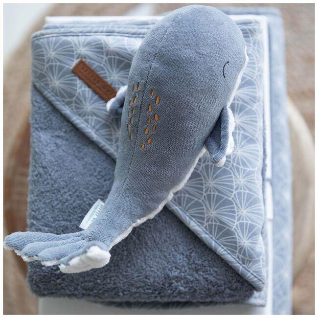 Little Dutch knuffel walvis Ocean 25cm - Blue