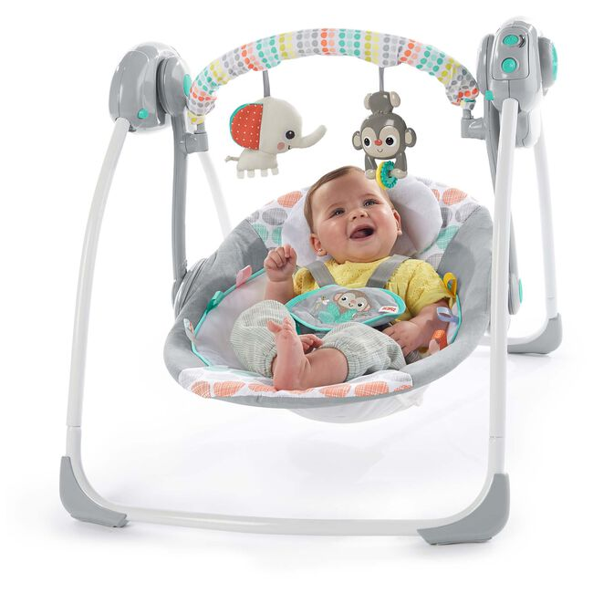 Bright Starts Whimsical Wild Portable Swing babyschommel -