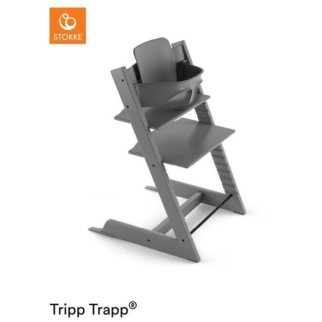 Stokke Tripp Trapp Babyset - Midgrey