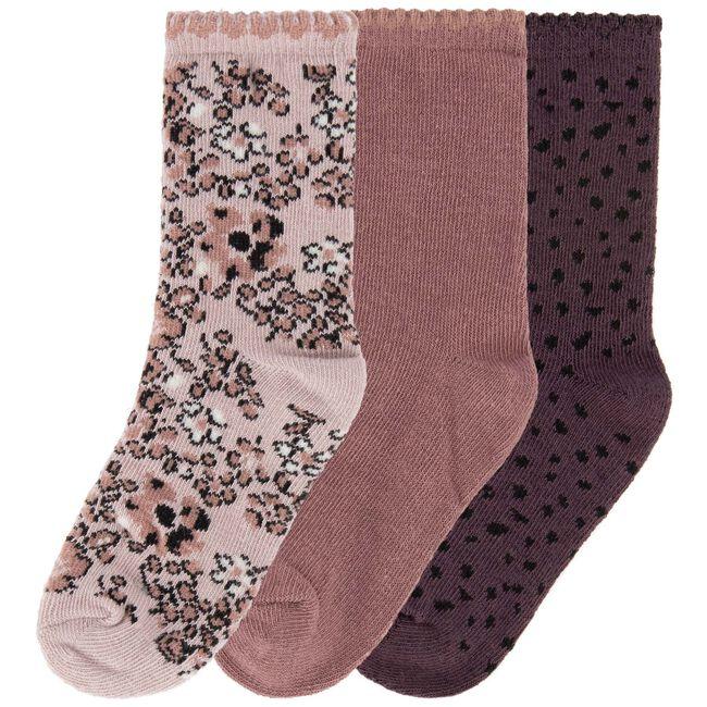 Prénatal meisjes sokken 3 stuks - Light Pink