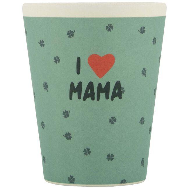 Prenatal bamboe mok I Love Mama - Multi