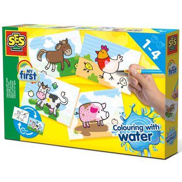 SES My First kleuren met water dieren -