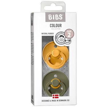 Bibs fopspeentje Size 2 - Honey Bee / Olive