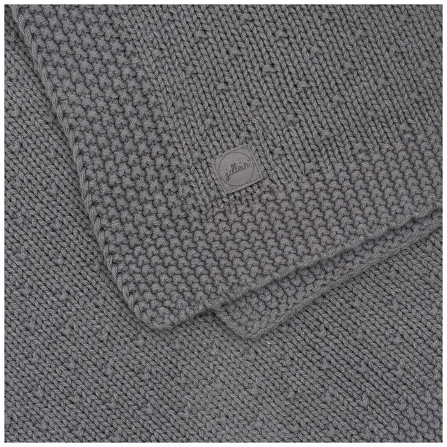 Jollein wiegdeken bliss knit - Storm Grey