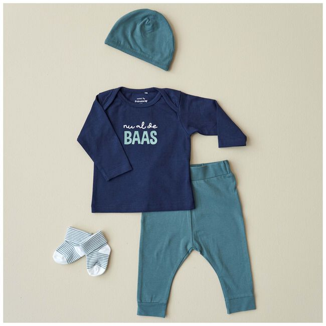 Prénatal newborn jongens shirtje - Dark Blue