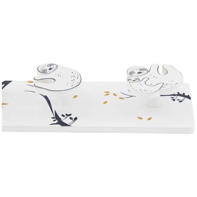 Prenatal kapstok luiaard - White