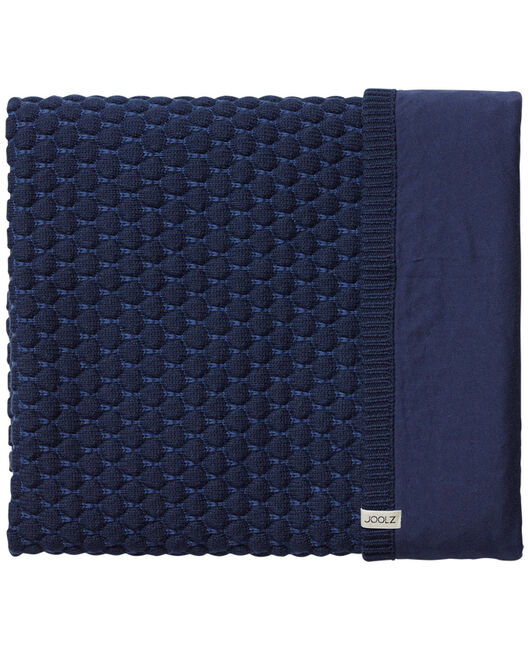 Joolz Essentials deken Honeycomb blauw - Blue