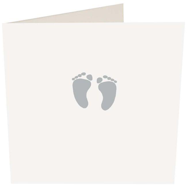 MapPublishing kaartserie Caroline Gardner 'Silver Feet' - White