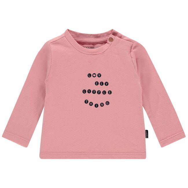 Noppies meisjes T-shirt - Mid Pink