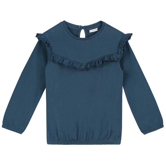 Prenatal peuter meisjes T-shirt - Midnight Blue
