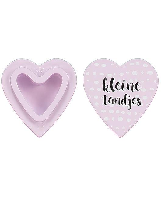 Prenatal houten tandendoosje roze - Pink