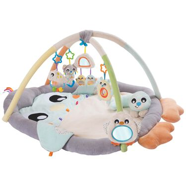 Playgro snuggle me penguin tummy time gym -