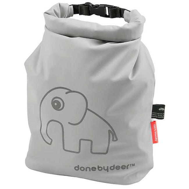 Done by Deer Roll Top opbergzakje Elphee - Grey