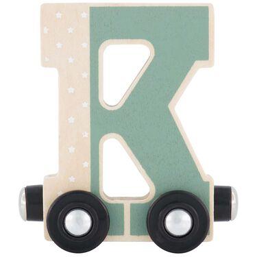 Prénatal houten namentrein letter K -