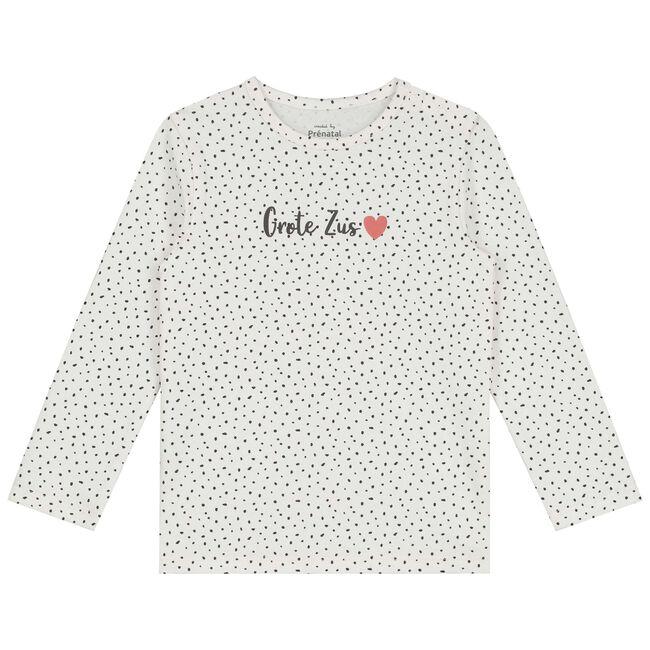 Prénatal peuter meisjes T-shirt - Ivoor Wit