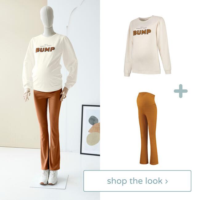Shop the look - sweater en broek -