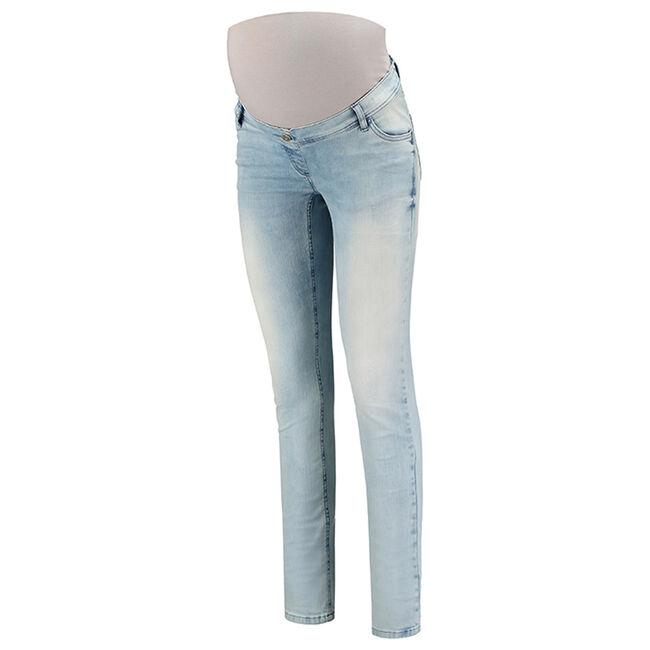 Love2wait zwangerschaps jeans - Lt Denim