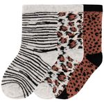 Prénatal meisjes sokken 3 stuks - Coral Pink