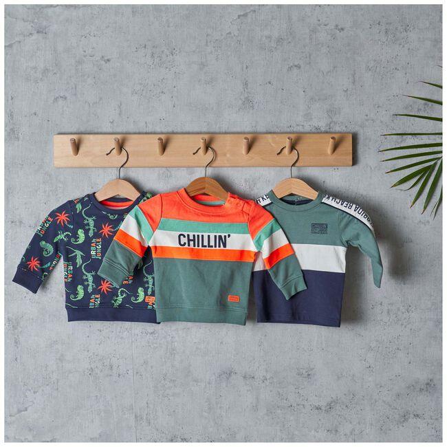 Prénatal baby jongens shirt - Dark Greenshade