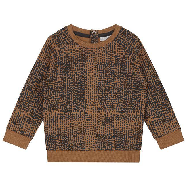 Prénatal peuter jongens sweater - Brown Shade