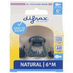 Difrax fopspeen natural 6 maanden -