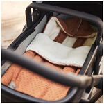 Jollein voetenzak autostoel groep 0 Bliss Knit - Caramel