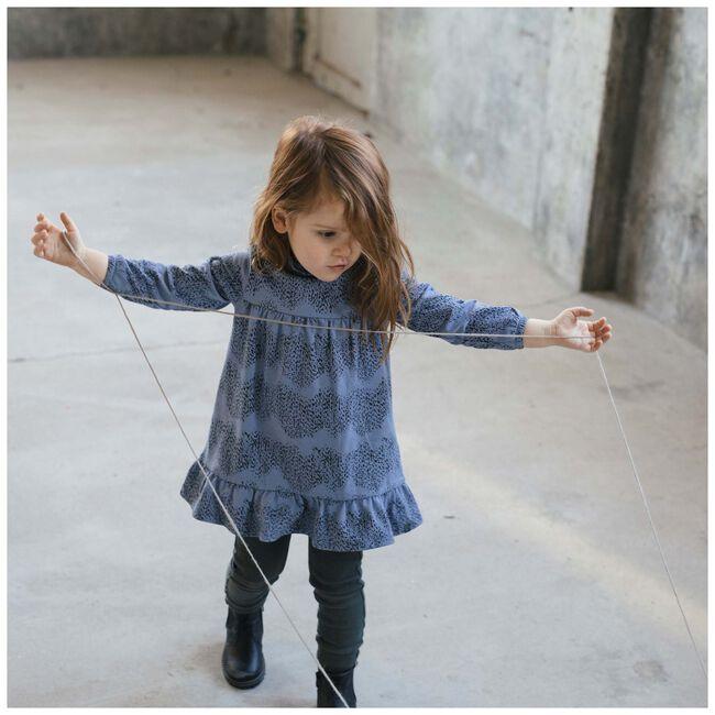 Sweet Petit peuter meisjes jurk Fayenne - Blue Grey