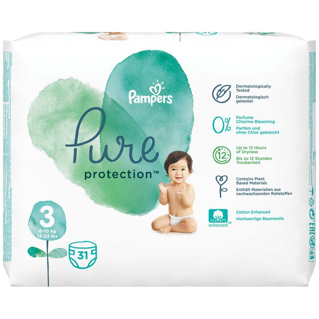 Pampers pure protection - Maat 3
