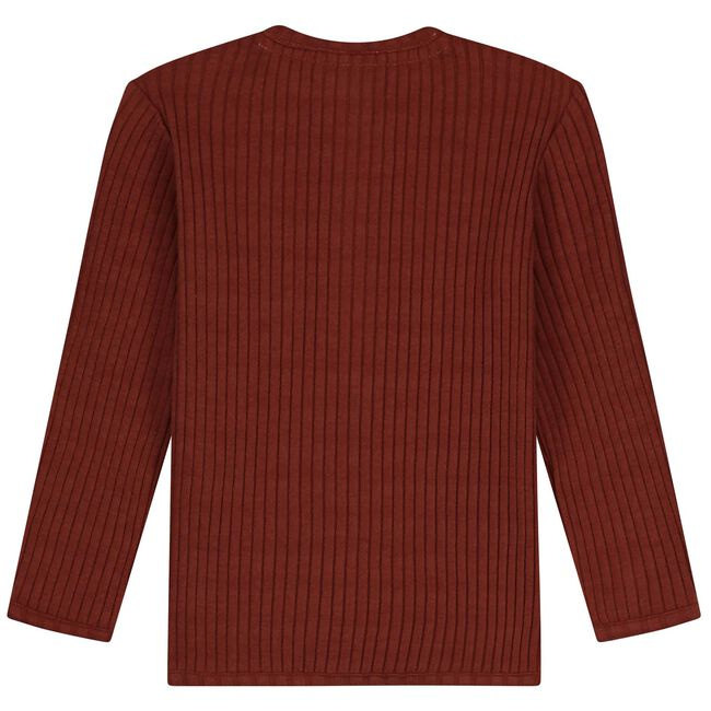 Prénatal peuter shirt - Red Brown