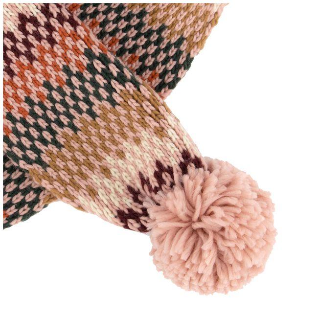 Prenatal peuter meisjes sjaal - Violet Pink