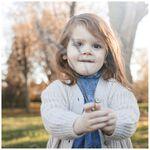 Sweet Petit peuter meisjes vest Sammy - Soft Ecru Melange