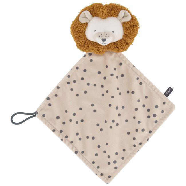 Prénatal knuffeldoekje leeuw - Light Ecru