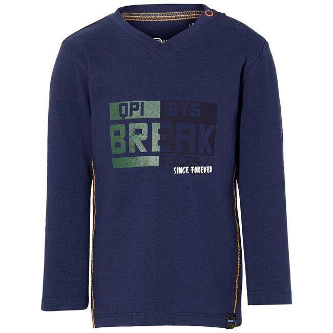 Quapi peuter jongens t-shirt - Dark Blue