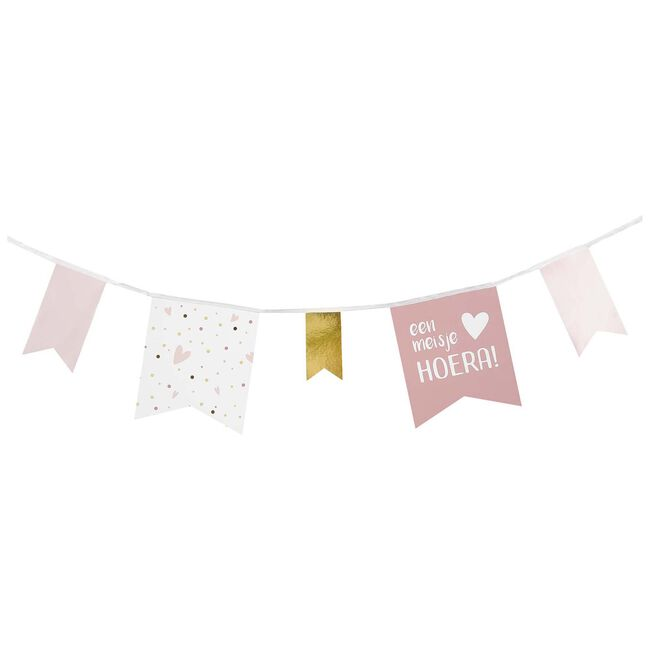 Prenatal slinger meisje - Pink