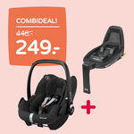 Combideal: Maxi-Cosi Pebble pro + Maxi-Cosi Familyfix2 base -