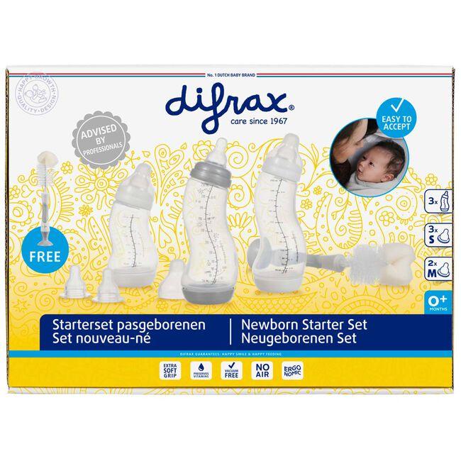 Difrax startersset met borstel - Grey