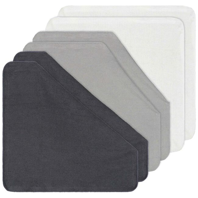Prénatal monddoekjes badstof - Graphite Grey