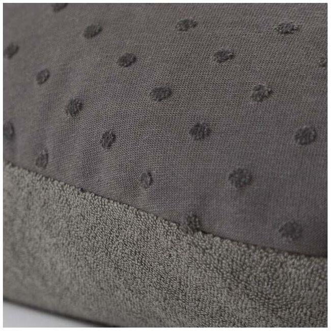 Doomoo Basics voedingskussen Comfy Big pompom grey - Grey