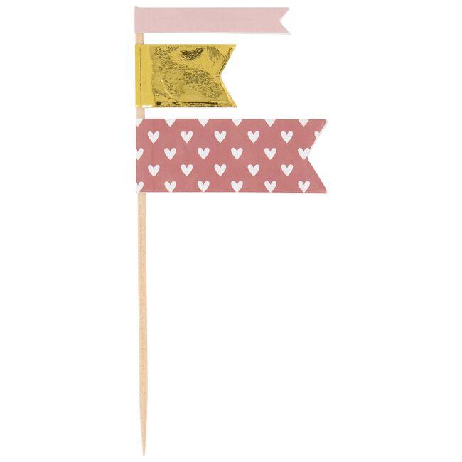 Prénatal partyprikker roze - Pink