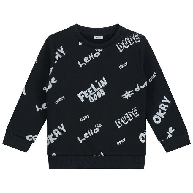 Prénatal peuter jongens sweater - Black