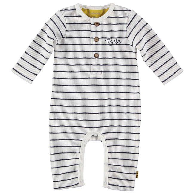 Bess baby jongens ééndelig pak - White