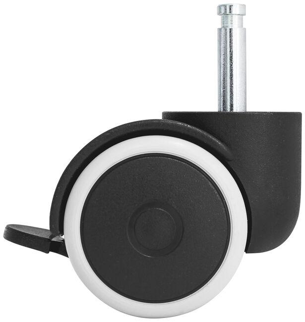Bopita wielenset box plastic/rubber - Zwart